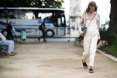 Paris Haute Couture Fall 2014 Street Style - Paris Haute Couture Fall 2014 Street Style Day 3.