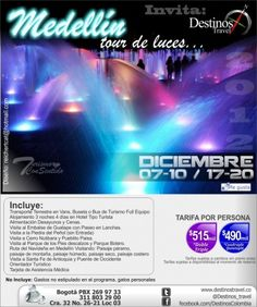 Medellin Tour de luces - BEDDO::Anuncios Clasificados Gratis en Colombia