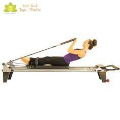 Rowing Back II pilates reformer exercise 3