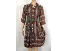 1970s Vintage Hippie Dress