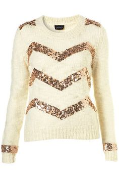 zig zag sequin sweater. absolutely want!