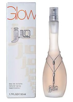 Jlo Glow. This perfume perfectly blends tones of amber, flowers, and fruit with vanilla to create a clean, alluring scent.