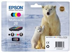 Epson Polar Bear 26 Multipack Ink Cartridges - Multi Coloured -           Rating:    List Price: unavailable   Sale Price: Too low to display.    Availability: unspecified              Product Description No... - http://ink-cartridges-ireland.com/epson-polar-bear-26-multipack-ink-cartridges-multi-coloured/ - 26, Bear, Cartridges, Colou
