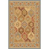 Found it at Wayfair - New Vision Light Blue Multi Panel Rug