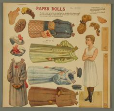 107.3799: paper doll | Paper Dolls | Dolls | Online Collections | The Strong