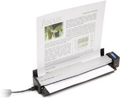 Sheetfed scanner for home (SOHO) use