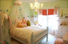 Sweet little girl's room.