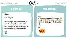 Boomers vs. Millennials at Work