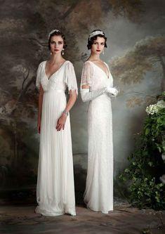 (Foto 15 de 23) Trajes de novia estilo vintage. Modelo Gertrude y Rose, Galeria de fotos de Las novias vintage de Eliza Jane Howell