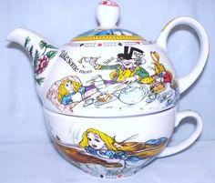 ENCHANTING - ALICE IN WONDERLAND TEA FOR ONE SET | eBay