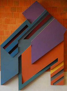 Brozozdowce III (1973), by Frank Stella.  Art Experience NYC  www.artexperiencenyc.com