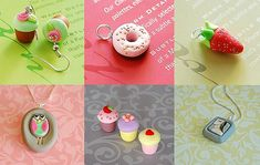 Super cute necklaces and earrings