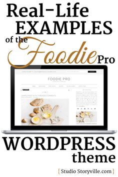 An amazingly long list of real-life food blogs and foodie websites that use the Foodie Pro WordPress theme, curated by Studio Storyville.