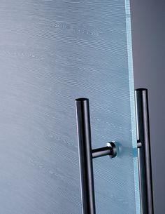 All-glass door