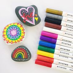 Paint Markers for Rocks