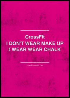 CrossFit is my Happy Place