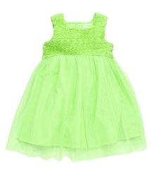 Guess dress - great green clothes for St. Paddy's Day on redsoledmomma.com