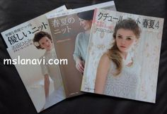 Revistas japonesas de tejer
