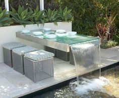 Stunning Modern Water Feature for Your Landscape 24