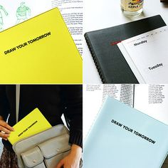 Draw Your Tomorrow BIG 2012 planner