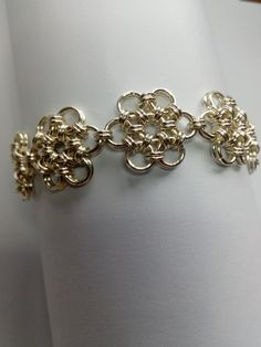 Your place to buy and sell all things handmade Daisy Bracelet, Daisy Ring, Gift Sets For Women, Chainmaille Bracelet, Handmade Bracelets, Jewelry Making, Etsy Shop, Jewels, Jewellery