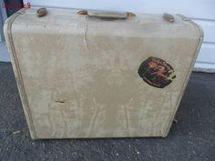 Samsonite Luggage Suitcase Flamingo Hotel Las Vegas Decal Vintage Travel Prop #SamsoniteShwayderBros