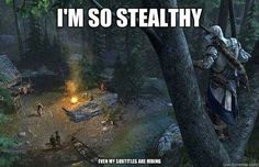 Very stealthy.