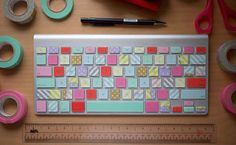 DIY Thursday: Washi Keyboard