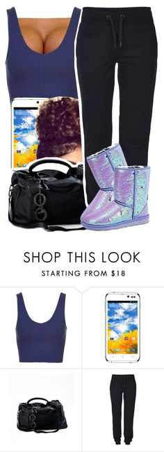 """""""Time"""" by kiaratee ❤ liked on Polyvore featuring Topshop, ONLY, UGG Australia, women's clothing, women's fashion, women, female, woman, misses and juniors"""