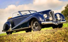 1948 Delahaye 135 M Cabriolet by Antem