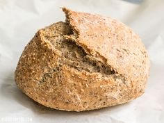 Seeded No-Knead Bread