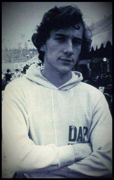 Ayrton Senna - Kart - Argentina, com DAP