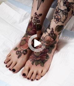 Jul 14, 2019 - Leg tattoos is a great choice and idea for both men and women. Discover a timeless selection of the top 100 best badass tattoos for men and women. #legtattoos Leg Tattoos Women, Back Tattoo Women, Flower Leg Tattoos, Foot Tattoos, First Time Tattoos, Tattoos For Guys Badass, Piercings, Tattoo Designs, Leg Sleeve Tattoo