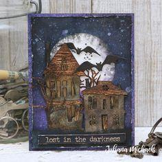 Halloween Scene, Halloween Tags, Halloween Haunted Houses, Fall Halloween, Halloween Crafts, Halloween Decorations, Halloween Countdown, Halloween Ideas, Blog Art