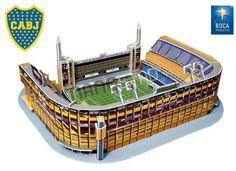 """La Bombonera"" - Alberto J. Armando Stadium 3D Jigsaw Puzzle"