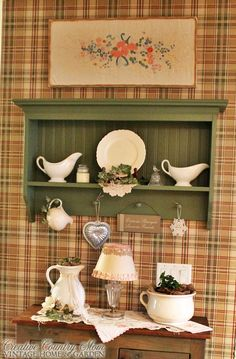 Creative Country Mom's: The Country Hutch Goes Cottage Cute