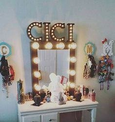 """Standard 30""""H 24""""W Metallic Black, dimmer/outlet self standing $230 shipping available Layaway payments available. Fb-Vanity J IG @Vanity J"""