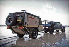 CONQUEROR UEV-440 OFF ROAD CAMPER TRAILER