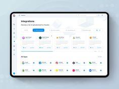 Soundon Hosting Integrations by ivan Zheng for Panda Plus on Dribbble Analytics Dashboard, Dashboard Design, Ui Ux Design, One Design, Web Design Inspiration, Design Ideas, Presentation Layout, Ui Web, Web Layout