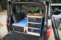 honda element camper - Google Search