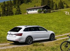 """""""The new ŠKODA Superb Combi embodies our core brand values par excellence and is more spacious, practical and clever than ever before,"""" said ŠKODA CEO, Prof. Skoda Superb Combi, Volkswagen Group, Hot Cars, Vehicles, Image, Clever, Core, Wallpapers, Beautiful"""