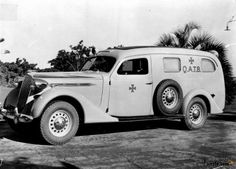 1937 Vauxhall Ambulance