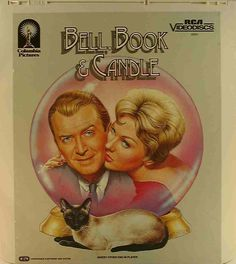 The Cat's Meow: A poster for Bell, Book and Candle prominently features its feline star, Pyewacket.