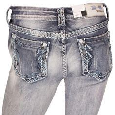 GRACE IN LA NWT CHEAP Sale Mid Easy Bootcut Stretch Jean 27 X 34 DONT MISS ME #GraceInLA #BootCut