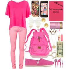 Aurora Goes to School: Fall Edition by haterzbelike, via Polyvore Modern Disney Outfits, Disneybound, Aurora, Disney Princess, School, Fall, Polyvore, How To Wear, Fashion