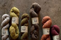 pioneer // naturally dyed // a verb for keeping warm They are my LYS and I love them every one.