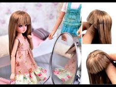 DIY como hacer pelo o pelucas muy naturales para muñecas   DIY - PatronesMil