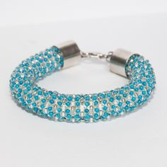 Made from 3mm glass beads. Thickness 15mm.