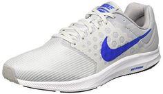 Oferta: 50€. Comprar Ofertas de Nike Downshifter 7, Zapatillas de Trail Running para Hombre, Blanco (Blanco / Azul / Gris / Pure Platinum / Hyper Cobalt / Wo barato. ¡Mira las ofertas!