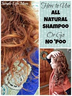 How to Go No 'Poo Successfully - how to transition, use (and not use) baking soda, deep condition and Baking Soda For Hair, Baking Soda And Lemon, Baking Soda Shampoo, Shampoo Bar, Baby Shampoo, Natural Shampoo, Natural Hair Care, Natural Hair Styles, Natural Beauty